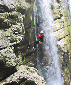 canyoning am gardasee italien