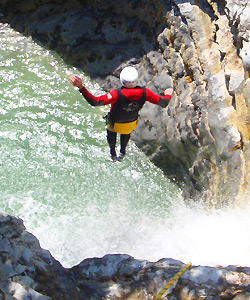 canyoning center gardasee italien