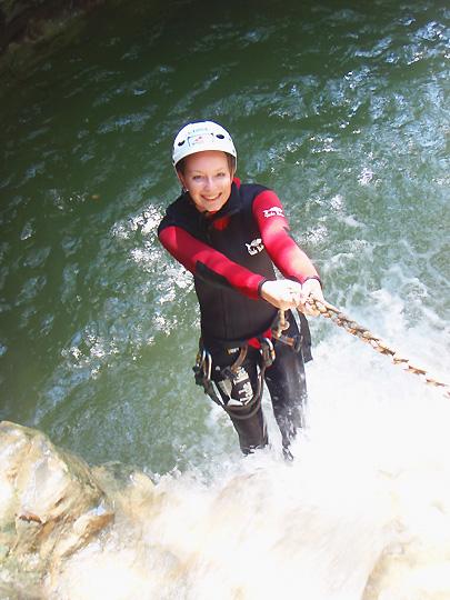 Girls Adventure Weekend Canyoning Italy Lake Garda