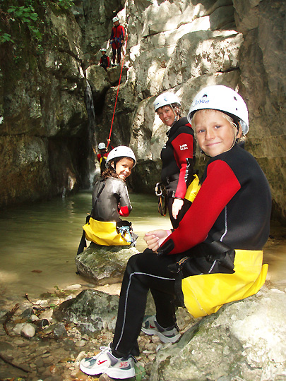 Kinder Canyoning Fur Familien Am Gardasee 3