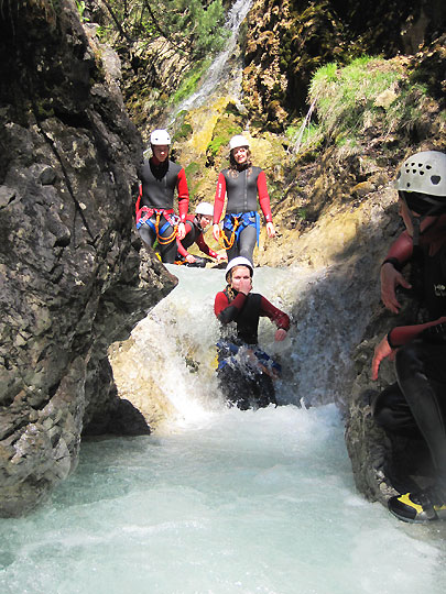 Kinder Canyoning Fur Familien In Tirol 3