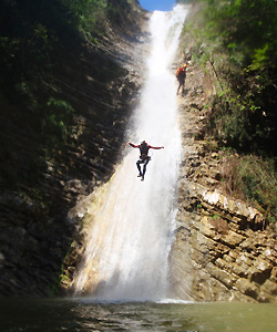 canyoning in oesterreich in Tirol