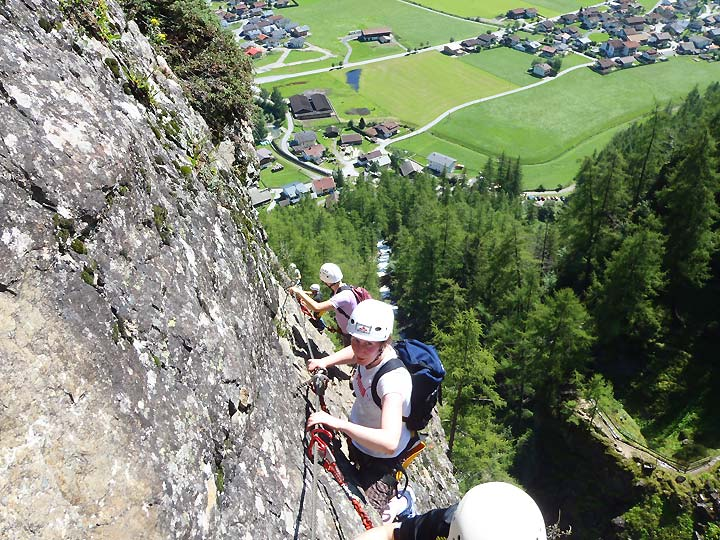 Klettersteig Imst : Guided via ferrata tours austria tirol oetztal & imst