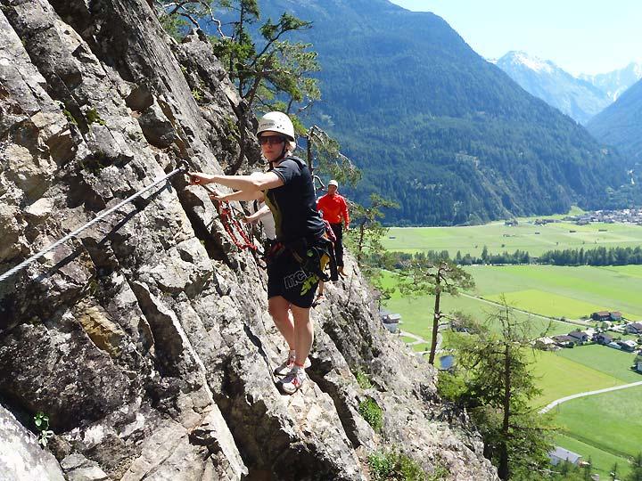 Klettersteig Austria : Klettersteig touren in tirol Österreich Ötztal imst