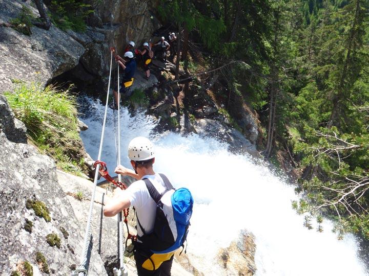 Klettersteig Oostenrijk : Klettersteig touren in tirol Österreich Ötztal & imst