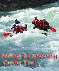 rafting canyoning center tirol