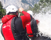 extreme trips rafting canyoning Oostenrijk