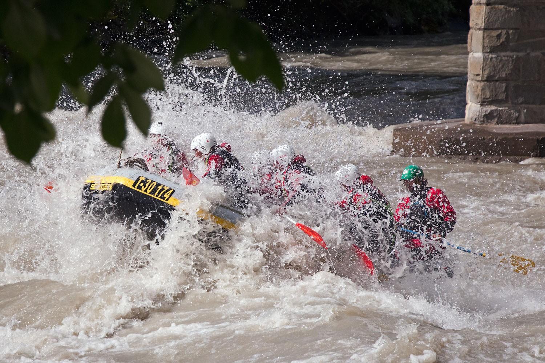 Rafting Extrem & Canyoning Kombi