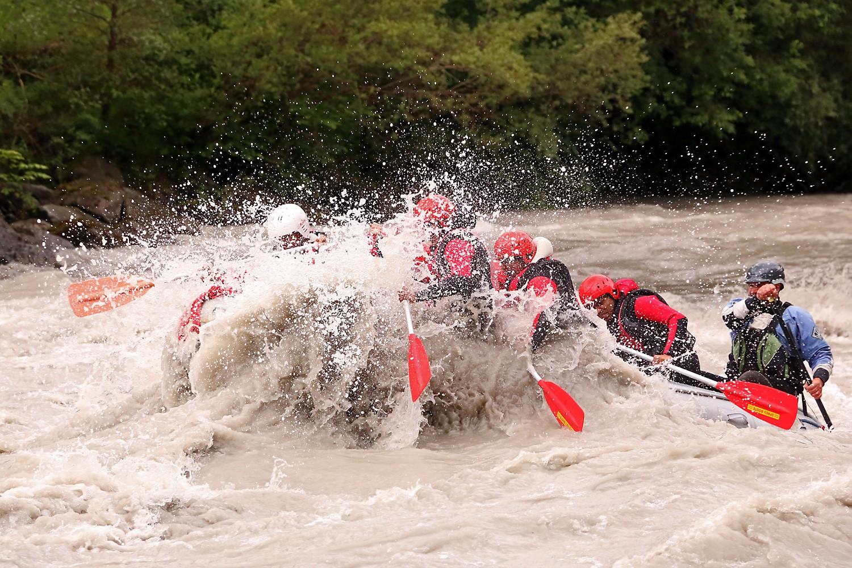 Rafting Extrem Kombi gutschein